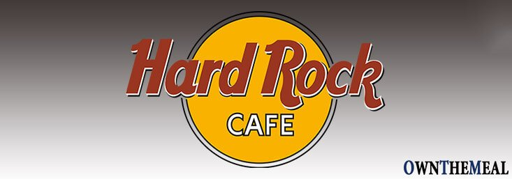 Hard Rock Cafe Menu & Prices