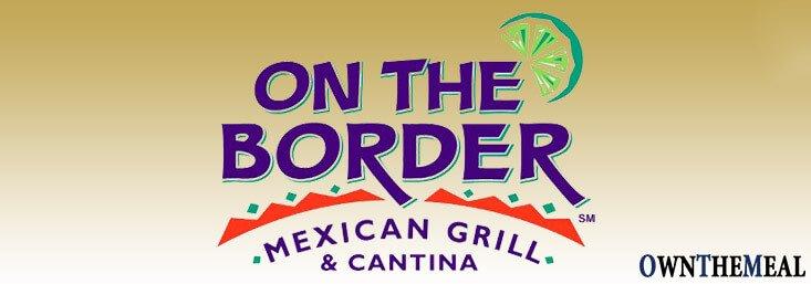 On The Border Menu & Prices