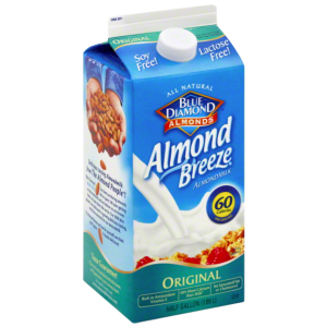 blue diamond original almond breeze