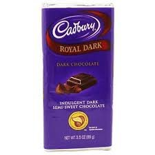 cadbury royal dark chocolate