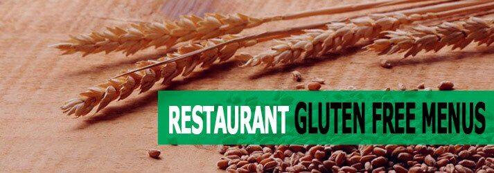 Gluten Free Menus