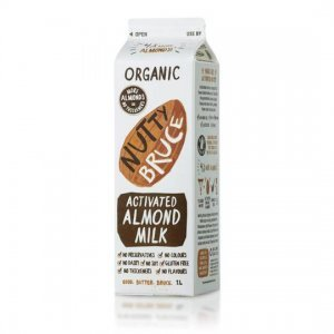 nutty bruce almond milk