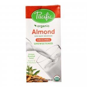pacific organic unsweetened almond milk