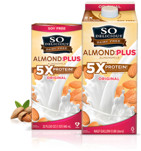 so delicious almond plus milk