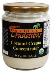 tropical traditions coconut cream concentrate