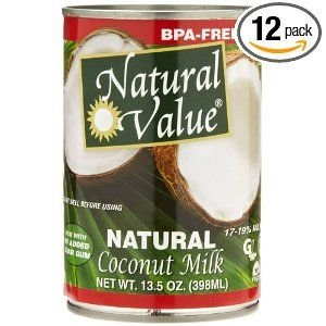 natural value coconut milk