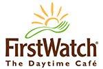 First Watch menu