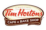 Tim Hortons menu
