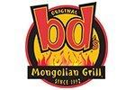 Mongolian BBQ menu